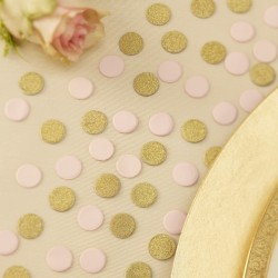 Tafel confetti Metallic Perfection Ivory and Gold