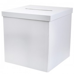 Moneybox Plain White