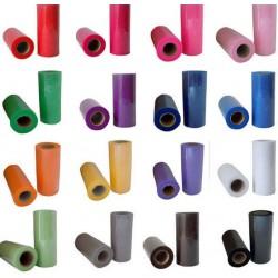 Aantrekkelijk geprijsd tule pakket met 3 rollen van 15 cm x 9 m in een kleur naar keuze