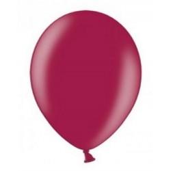 Ballonnen klein, 12 cm extra sterk voor helium of lucht per 10, 20, 50 of 100 stuks metallic bordeaux rood