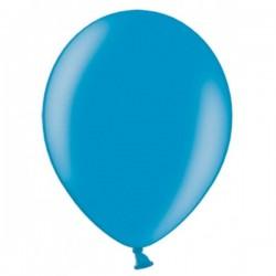 Ballonnen klein, 12 cm extra sterk voor helium of lucht per 10, 20, 50 of 100 stuks metallic caribbean blue