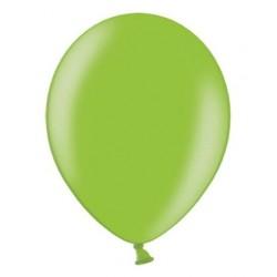 Ballonnen klein, 12 cm extra sterk voor helium of lucht per 10, 20, 50 of 100 stuks metallic helder groen