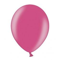 Ballonnen klein, 12 cm extra sterk voor helium of lucht per 10, 20, 50 of 100 stuks metallic hot pink