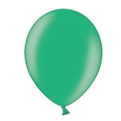 Ballonnen klein, 12 cm extra sterk voor helium of lucht per 10, 20, 50 of 100 stuks metallic malachit groen