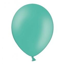 Ballonnen klein, 12 cm extra sterk voor helium of lucht per 10, 20, 50 of 100 stuks pastel aquamarine