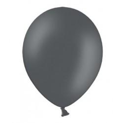 Ballonnen klein, 12 cm extra sterk voor helium of lucht per 10, 20, 50 of 100 stuks pastel grijs
