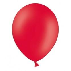 Ballonnen klein, 12 cm extra sterk voor helium of lucht per 10, 20, 50 of 100 stuks pastel rood