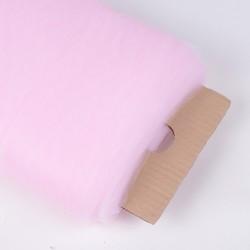 Tule 274 cm breed op rol van 45,7 meter licht roze