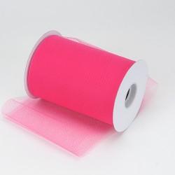 Tule rol shocking pink
