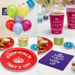 Decoratie pakket Keep Calm and Party On