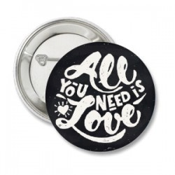 Button All You Need is Love