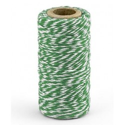 Bakers twine rol van 50 meter emerald green