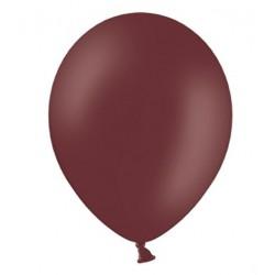 Ballonnen 30 cm extra sterk voor helium of lucht per 10, 20, 50 of 100 stuks pastel maroon