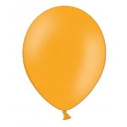 Ballonnen 30 cm extra sterk voor helium of lucht per 10, 20, 50 of 100 stuks pastel mandarin orange