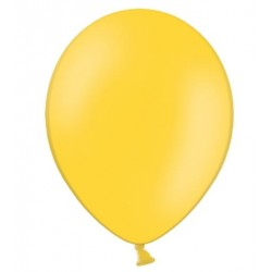 Ballonnen 30 cm extra sterk voor helium of lucht per 10, 20, 50 of 100 stuks pastel honing geel