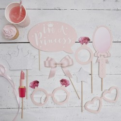Pak met 9 party props Princess Perfection