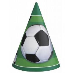 Pak met 6 hoedjes Voetbal