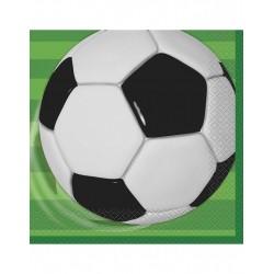 Pak met 16 servetten Voetbal