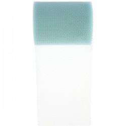 Tule rol 8 cm breed en 10 meter lang licht blauw