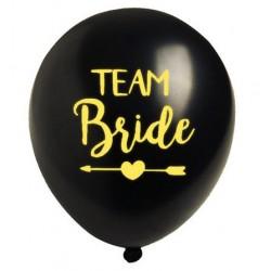 Ballonnen Team Bride Tribe zwart