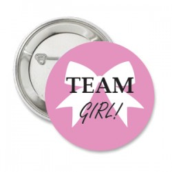 Button Team Girl strik