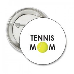 Button TENNIS MOM