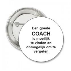 Button een goede coach