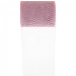 Tule rol 8 cm breed en 10 meter lang licht roze