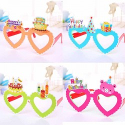 Grappige verjaardags bril verkrijgbaar in 4 kleuren