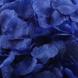 Aantrekkelijk geprijsd pak met 1000 rozenblaadjes royal blue