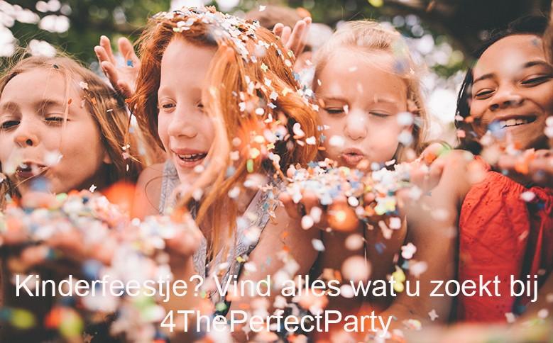 Alles voor een kinderfeestje vindt u op 4ThePerfectParty