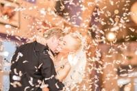 Wat kan je doen als strooien bij jullie trouwlocatie niet mag?