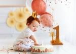 Vier je de 1e verjaardag van je kind met een unieke cakesmash!