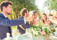 Tips om problemen bij de tafelindeling voor de huwelijksdag te voorkomen en om dinertafels te decoreren